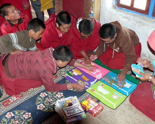 Our second school, in Tsarang