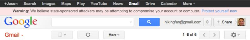 Targeted User Warning