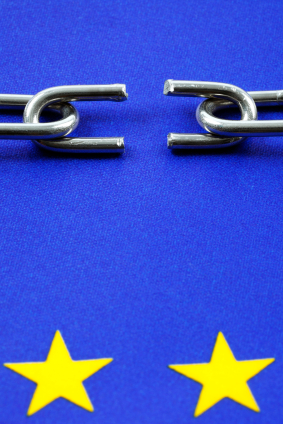 European Union broken chain